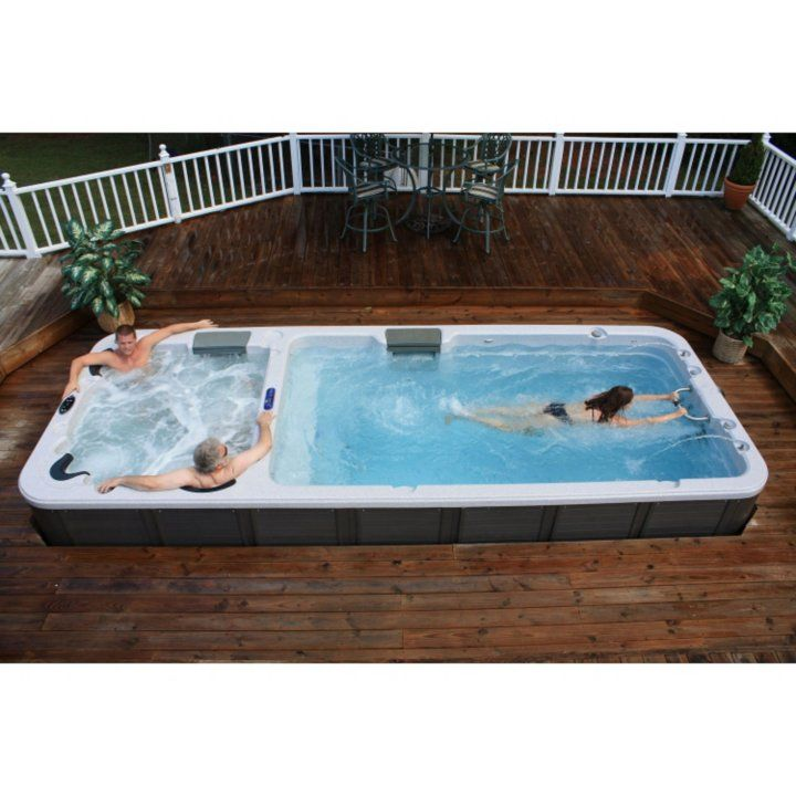 Ultimate Dual Temperature Stereo Swim Spa Detail 1 Swim Spa Hot Tub Outdoor Pool Hot Tub