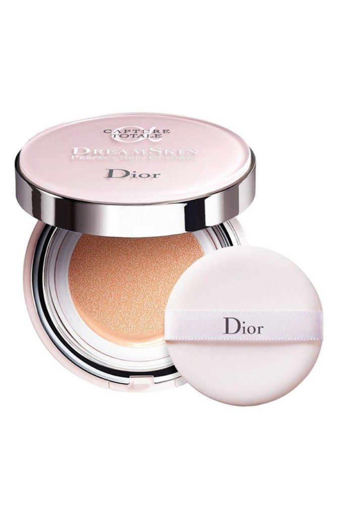 Dior Cushion compact foundation - click through for more of the best makeup cushion compacts