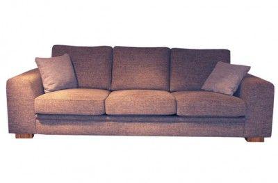 Fasett modulsofa 3 seat sofa couch brown fabric swedish design møbelform www.helsetmobler.no