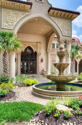 grand fountain but would choose something less ornate