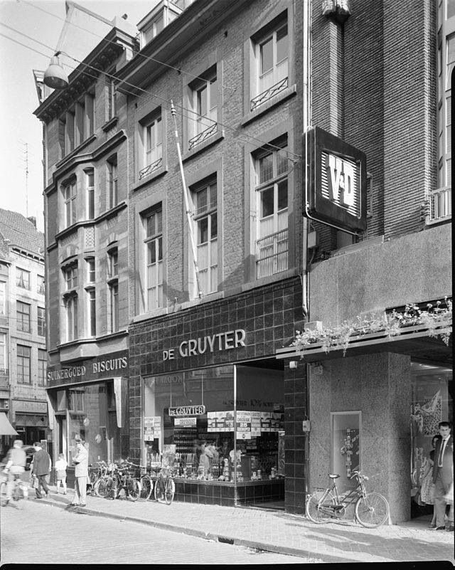De Gruyter,in de grote staat in Maastricht .daar ging je solliciteren.