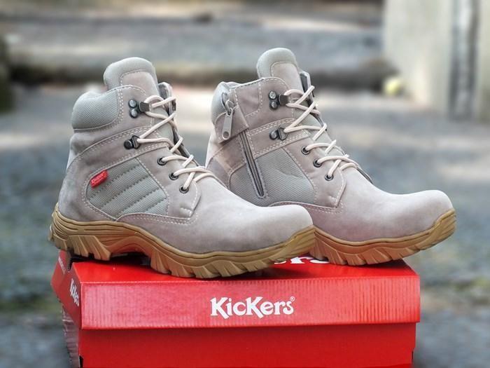 Belanja Sepatu Boots Pria Kickers Gurun Indonesia Murah Belanja
