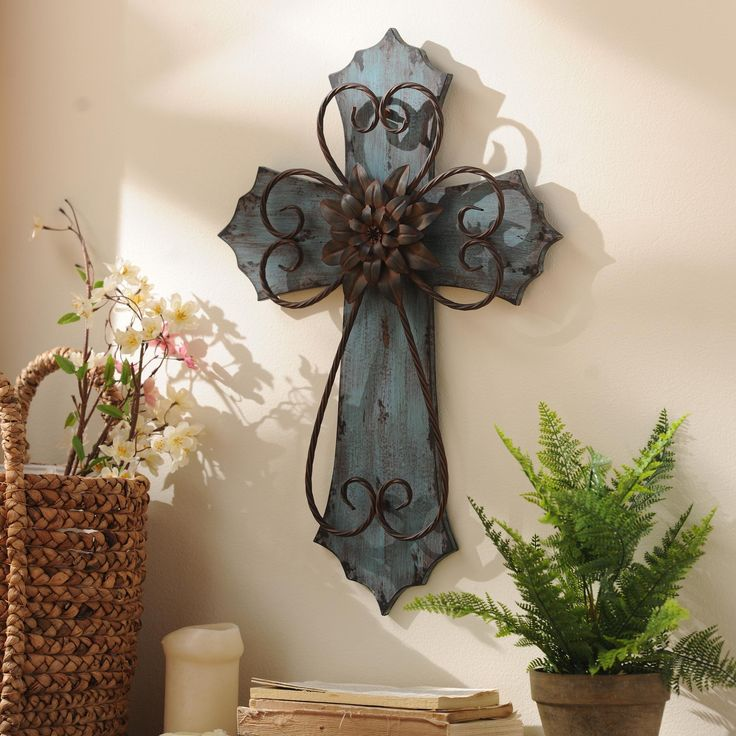 Kirklands Large Wall Decor : Best images about wall crosses decor on