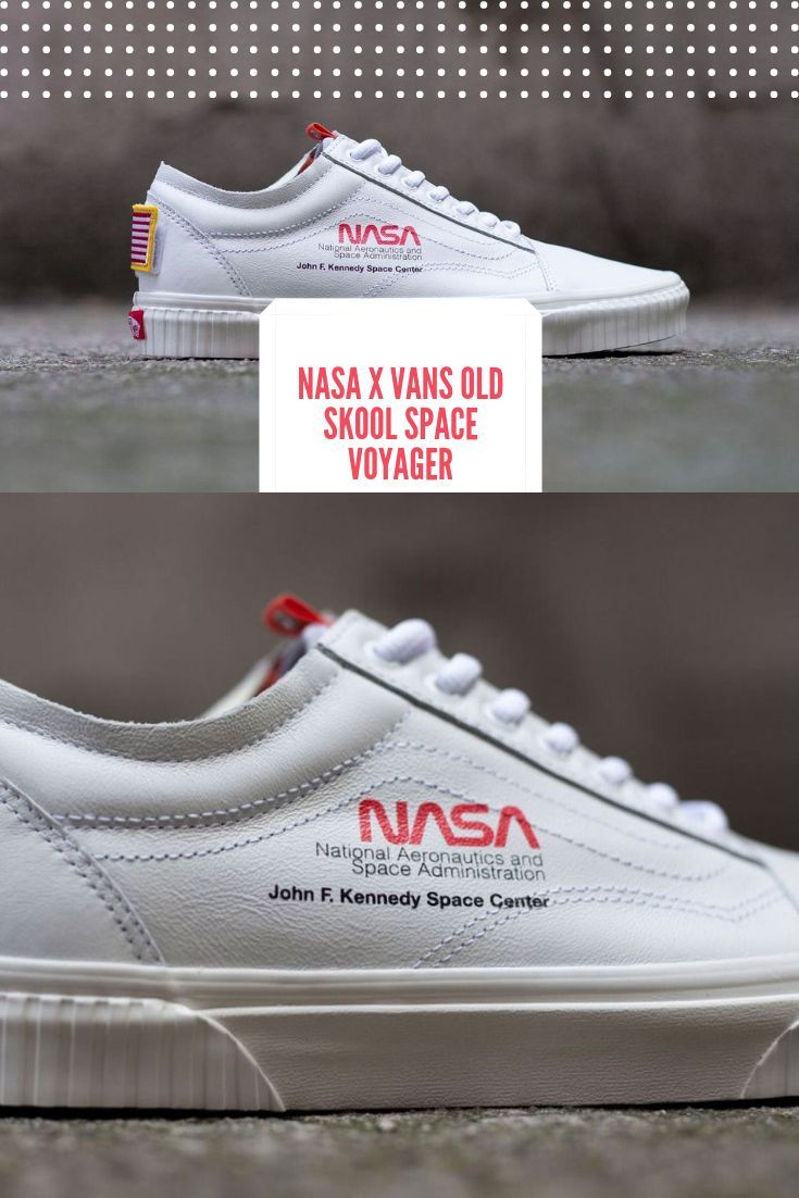 575b180d06a NASA x Vans Old Skool Space Voyager True White VN0A38G1UP9 Size 7-13 100%