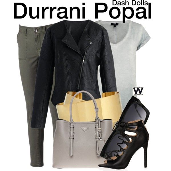 Inspired by Durrani Popal from the reality series Dash Dolls.