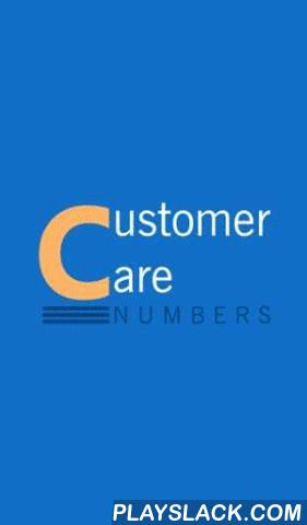 Customer Care Numbers  Android App - playslack.com , Do you save your important customer care numbers in your phone book? Really you do this? Phone book is for keeping personal numbers only, let this app manage, your important customer care/Service phone numbers in well categorised and easily accessible manner. You can browse here, mobile network providers (Airtel, BSNL, Idea, Reliance, Tata, Vodafone) USSD codes for Balance Check, 2G Internet Balance, 3G Internet Balance, Recharge, Know…