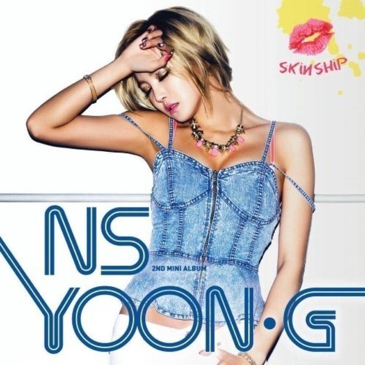 NS윤지 미니앨범 NS YOON_G Mini Album Cover