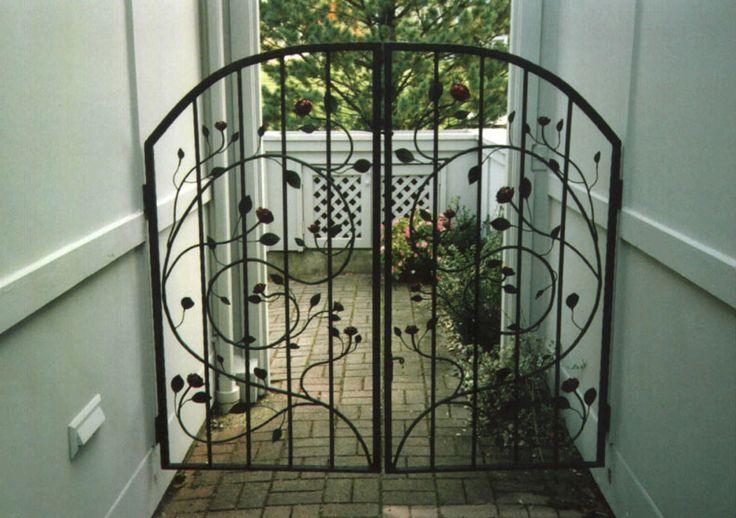 Iron Gates Wrought Iron Baby Gates