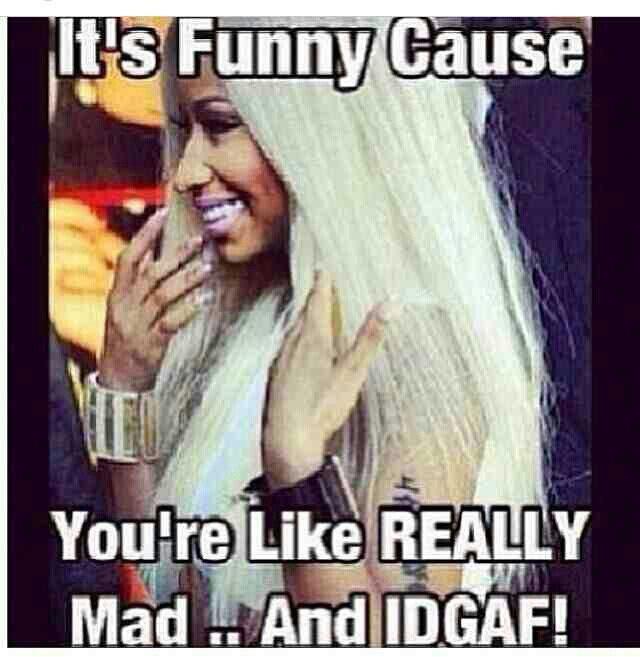 Lol Nicki Minaj
