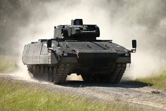 La Bundeswehr reçoit ses deux premiers véhicules Puma » Zone Militaire