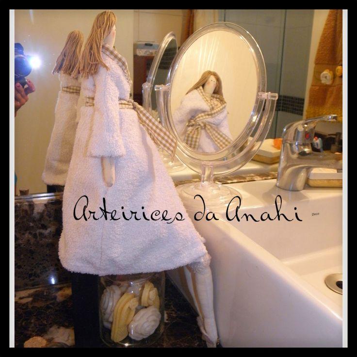 Arteirices da Anahi: Pronta para o banho...
