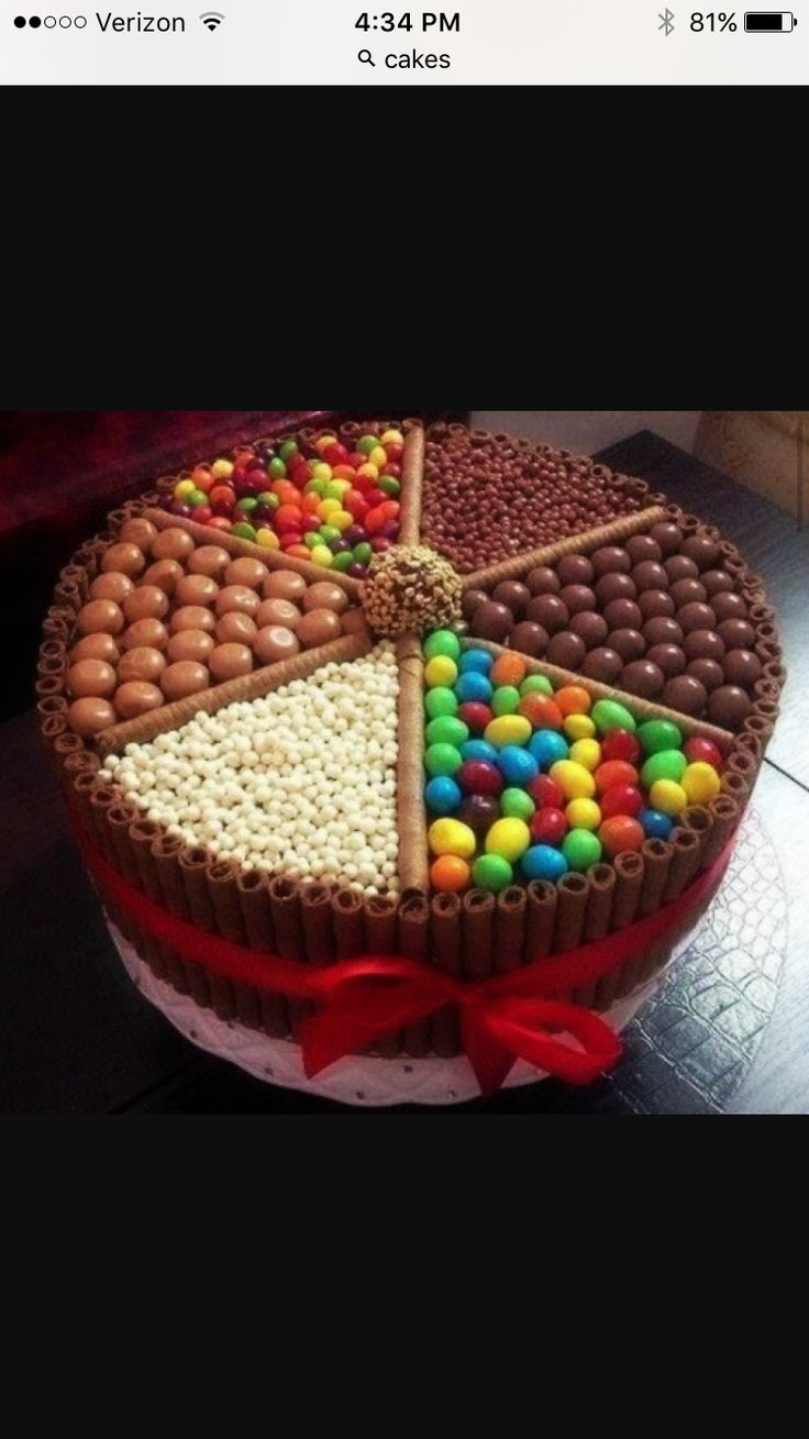 A candy cake!