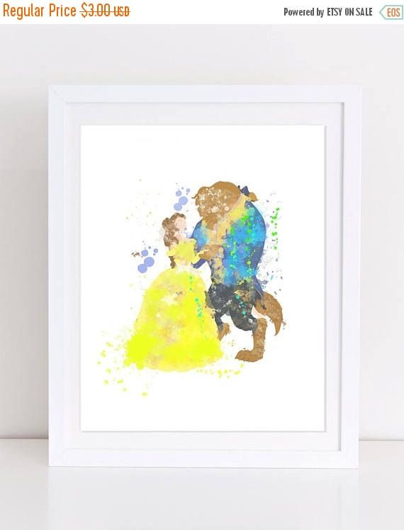 70%OFF Beauty And The Beast Poster Beauty And The Beast