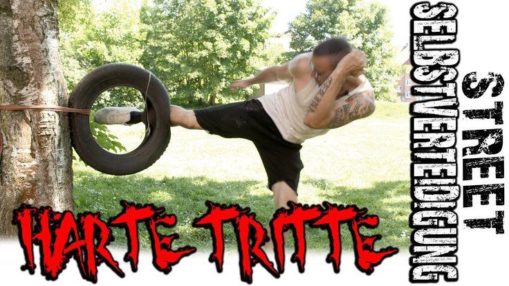 Brutale TRITTE | Schienbeine hart bekommen für Tritte / GEWINNSPIEL GEWI...