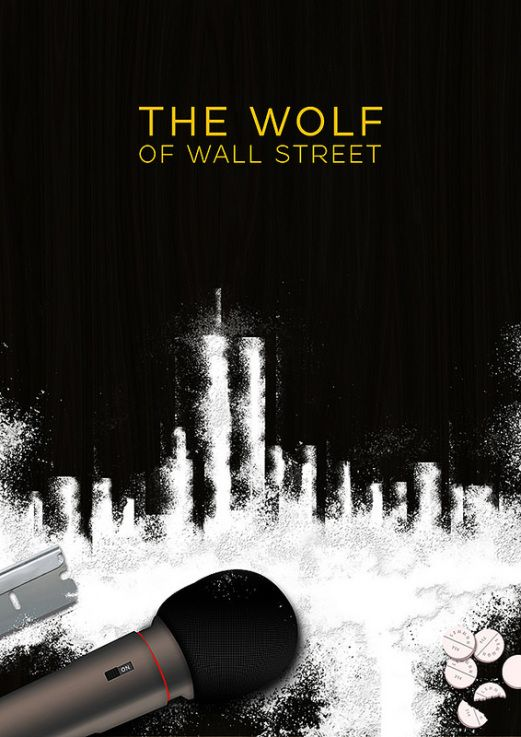 The Wolf of Wall Street Poster by Jason W Stanley via www.CreativeJUUS.com