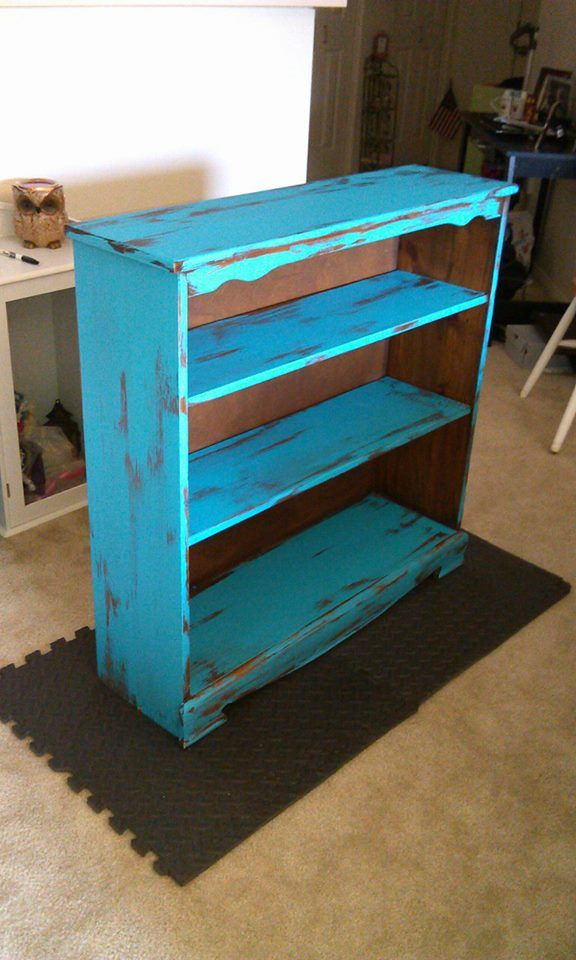 1000 Images About Distressed Book Shelf On Pinterest