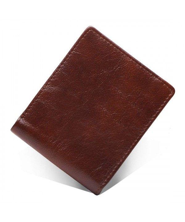 1a0bfd446110 Men's Bags, Wallets, Vintage Cowhide Genuine Leather Men's Wallet Small  Biflod Purse Card Holder - Coffee - CN185XO7807 #Men #Bags #purse #Handbags  ...