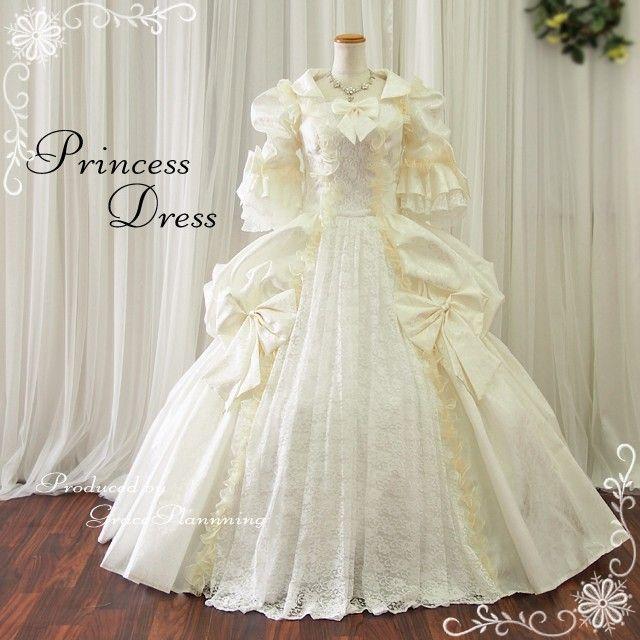 ウエディングドレス お姫様ドレス 中世貴族風 結婚式 二次会 袖 :g2785ow:T・ブライトショッピング - 通販 - Yahoo!ショッピング