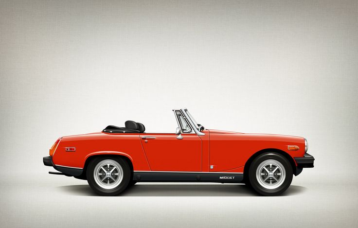 I had FirstCar do an illustration of my 1976 #MG Midget 1500 and it came out great!! Amazing.
