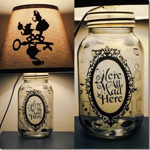 Disney Mason Jar Lamps That Will Light Up Your Life