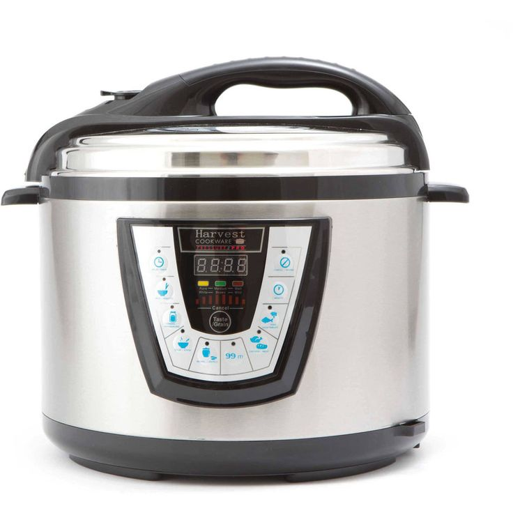10qt Electric Pressure Cooker Stainless Steel Programmable Canner Rice Cooker #HarvestDirect