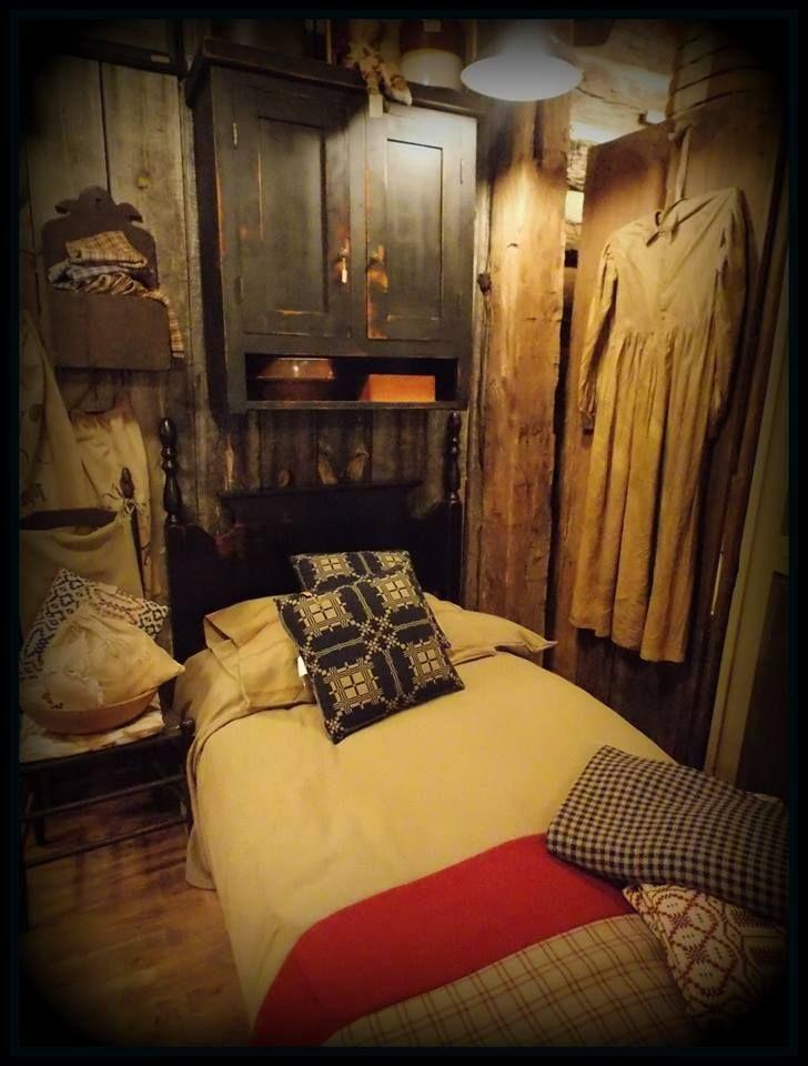 cheap primitive country bedroom decorating ideas | sweet slumber primitive bedroom http://www.pinterest.com ...