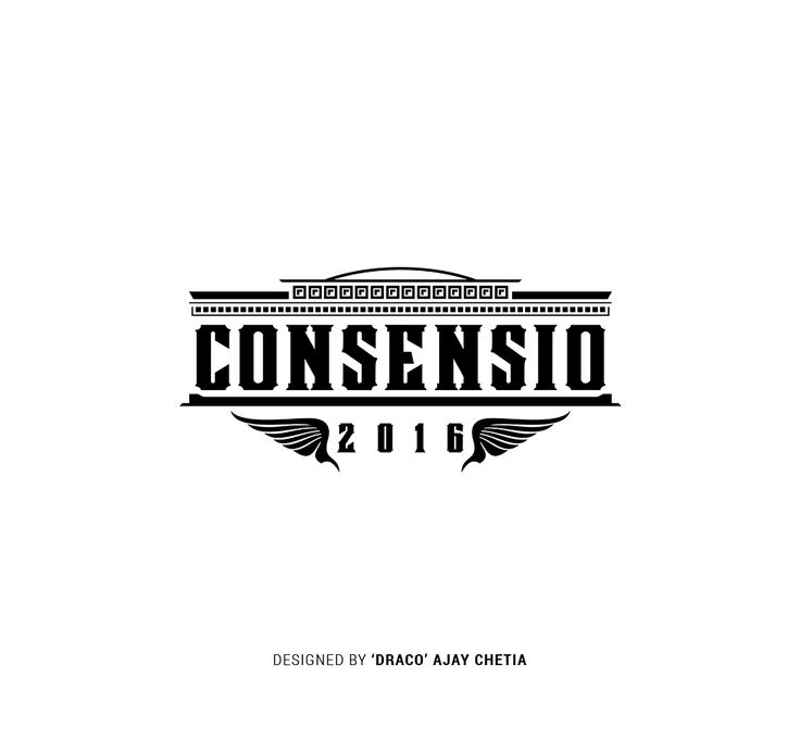 New logo of RGI Consensio. It is the annual festival of Royal Group of Institutions, Guwahati.
