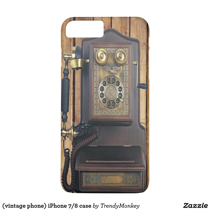 (vintage phone) iPhone 7/8 case