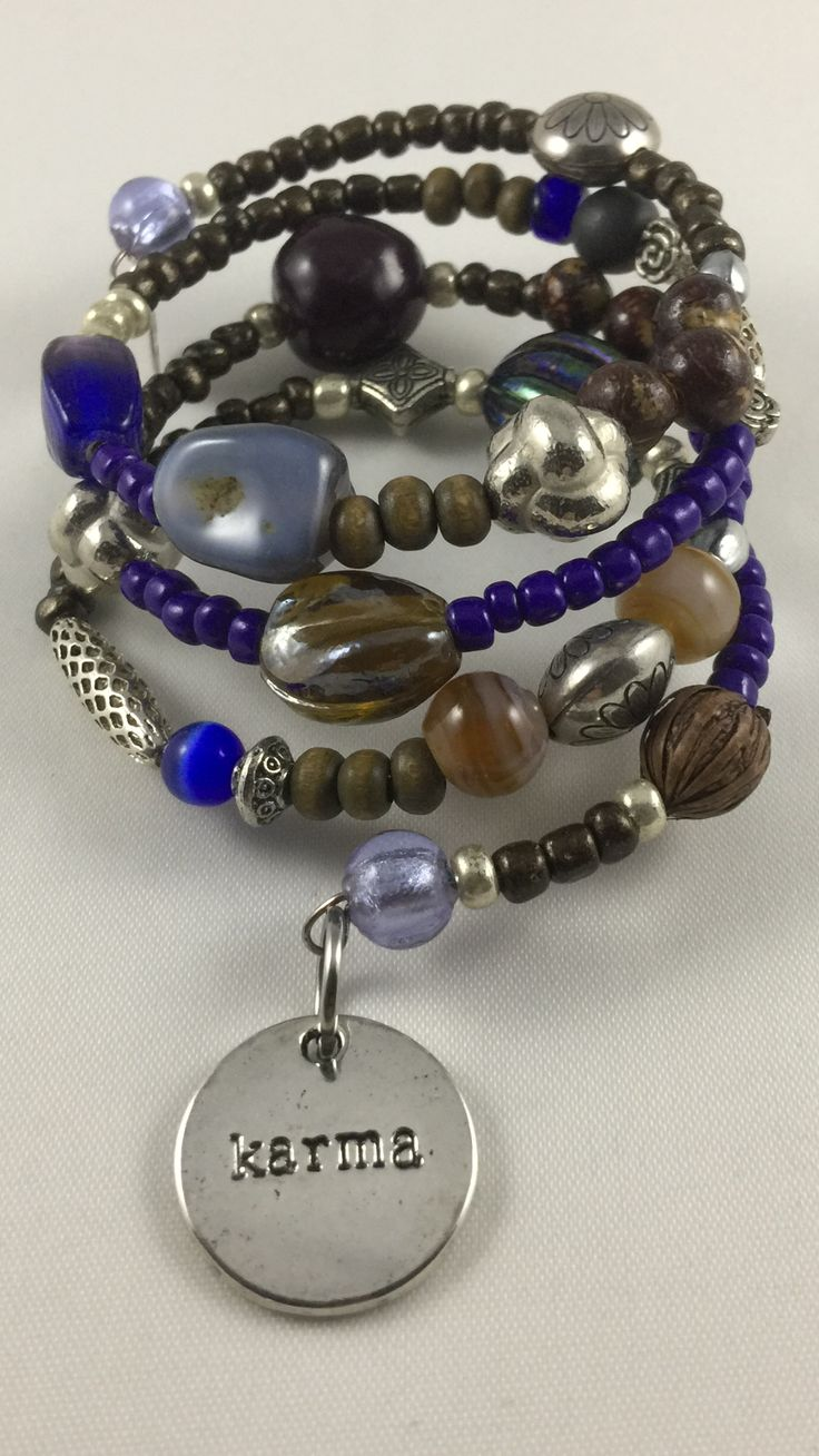 "Bracelet ""Go indigo"" available at www.storyroad.nl"