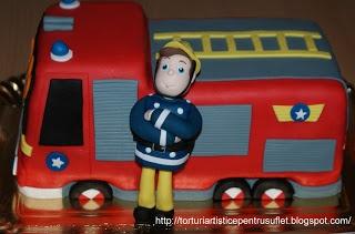 Tort Pompierul Sam