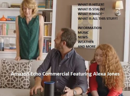 Amazon Echo Commercial Featuring Alexa Jones