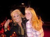 Kelcy Lee Hyde on stage with Tanya Tucker Buffalo Bills Casino State Line NV  Country Singer/Songwriter Kelcy Lee Hyde @kelcyhyde