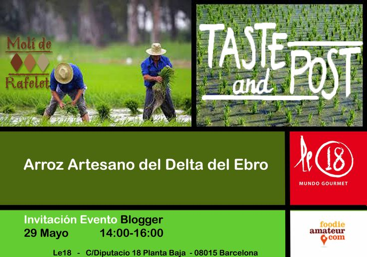 #TasteandPost  Mayo  para Bloggers & Foodies