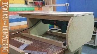 Como hacer una sierra caladora de mesa