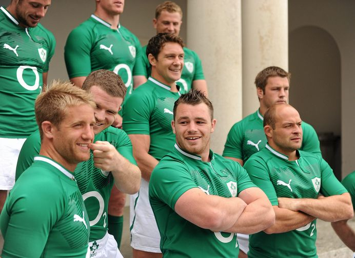 Irish Rugby...looks like I found a new sport to watch.  ;)