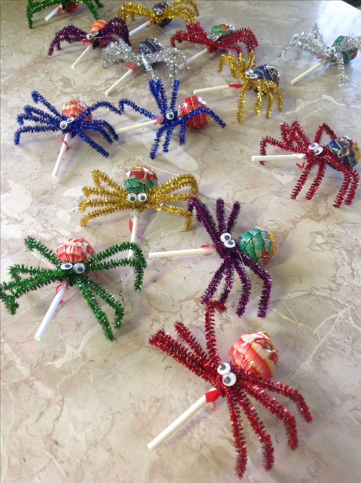 Not scary spiders, for a kids garden party