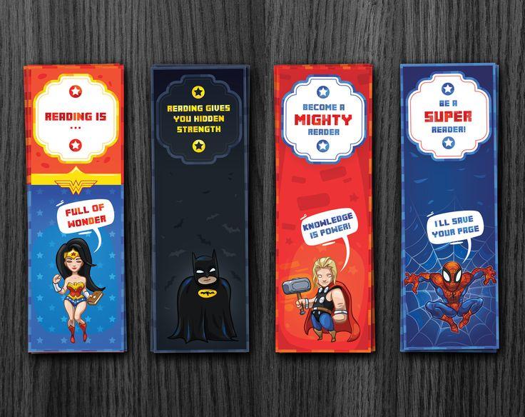 Superhero Coloring Bookmarks : 30 best printable bookmarks images on pinterest