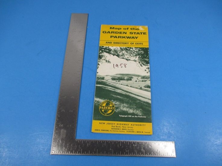 #Vintage 1958 travel brochure garden #state parkway nj #highway road map s2724,  View more on the LINK: 	http://www.zeppy.io/product/gb/2/252639149692/