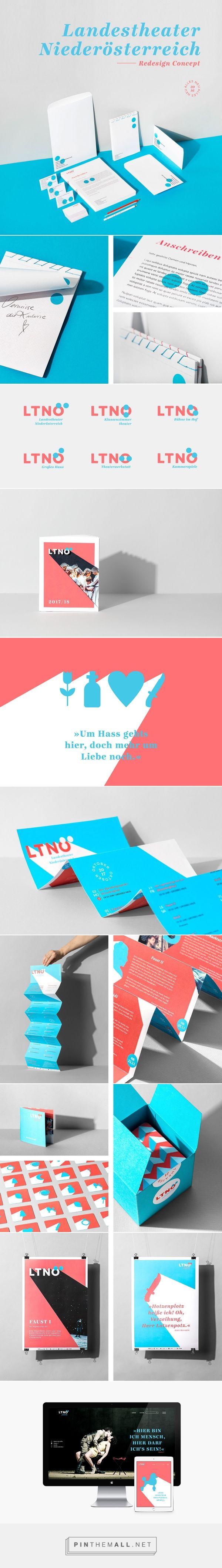 Landestheater Niederösterreich Redesign Concept