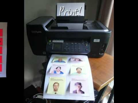 Printing with Post Its - YouTube