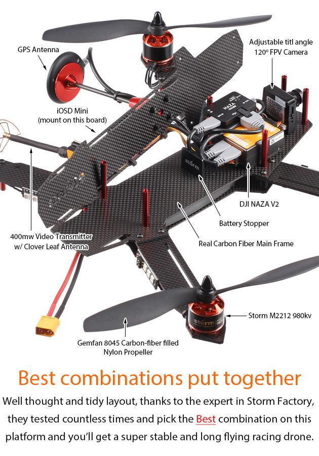 61 best drone rov images on pinterest drones quadcopter drone storm racing drone srd9 gps naza v2 solutioingenieria Gallery