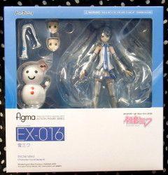 MAX FACTORY figma ボーカロイド/キャラクターボーカルシリーズ EX-016 雪ミク(初音ミク)/Snow Miku(Hatsune Miku)