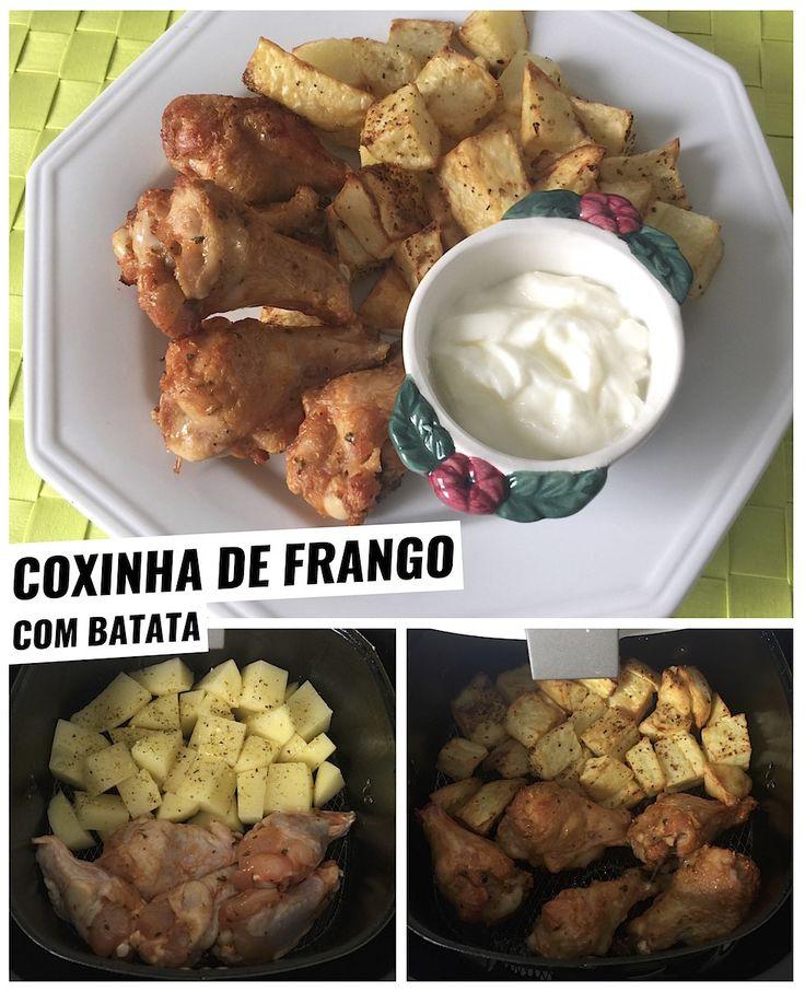receitas-na-airfryer-coxa-de-frango-batata