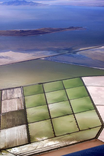 Salt evaporation ponds great salt lake evaporation for Design of evaporation pond
