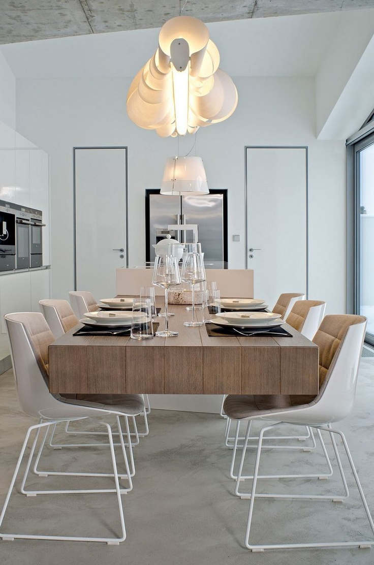 """floating"" dining table"