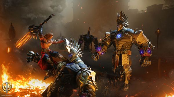 Skyforge Argents. Skyforge is a 3D MMORPG with a veteran development team that includes the Allods Team and Obsidian Entertainment.