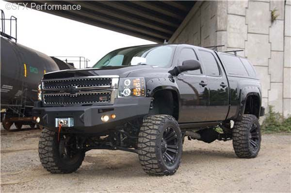 silverado bumpers 2007 5 2013 chevy silverado winch off road bumper chevy pinterest. Black Bedroom Furniture Sets. Home Design Ideas