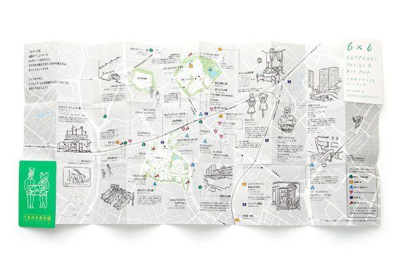 アイデア実現プロジェクト#02 6×6 ROPPONGI DESIGN & ART MAP by トラフ建築設計事務所 【中編】 | PROJECT | 六本木未来会議 -デザインとアートと人をつなぐ街に-