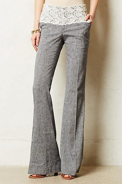Laced Brighton Trousers /