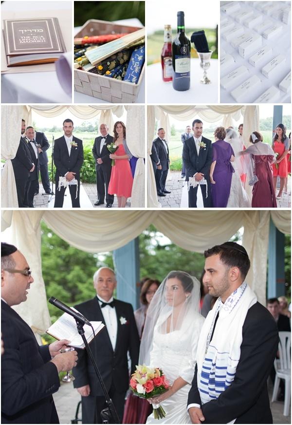 Station Creek Golf Club wedding ceremony. Photos by Avangard Photo.